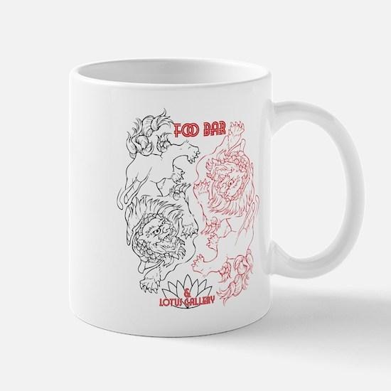 Foo Bar and Lotus Gallery FOO DOGS Mugs