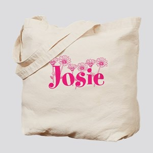 Pink Personalized Name Tote Bag