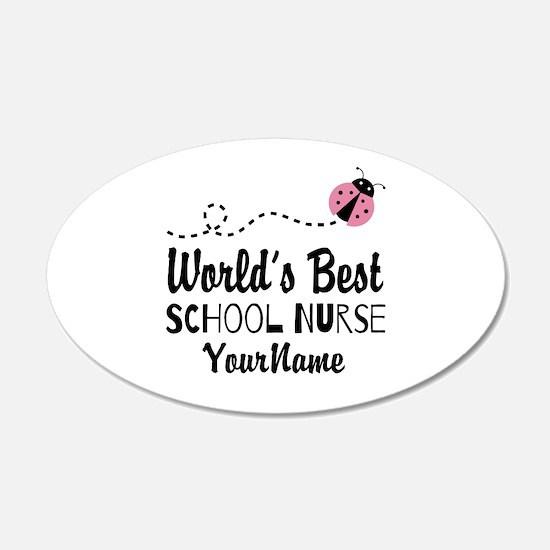 World's Best School Nurse Wall Sticker