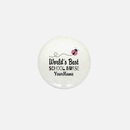 World's Best School Nurse Mini Button