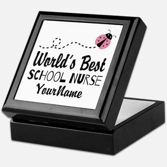 World's Best School Nurse Keepsake Box