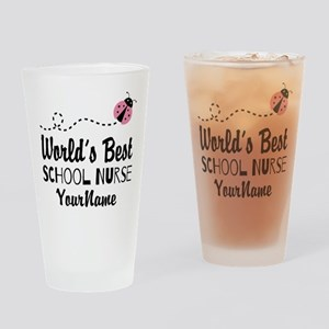 World's Best School Nurse Drinking Glass