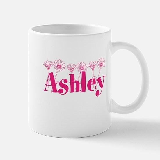 Pink Personalized Name Mugs