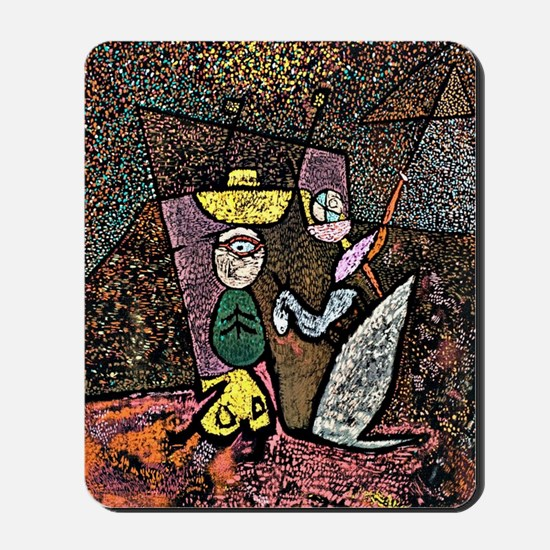 Klee - The Travelling Circus Mousepad