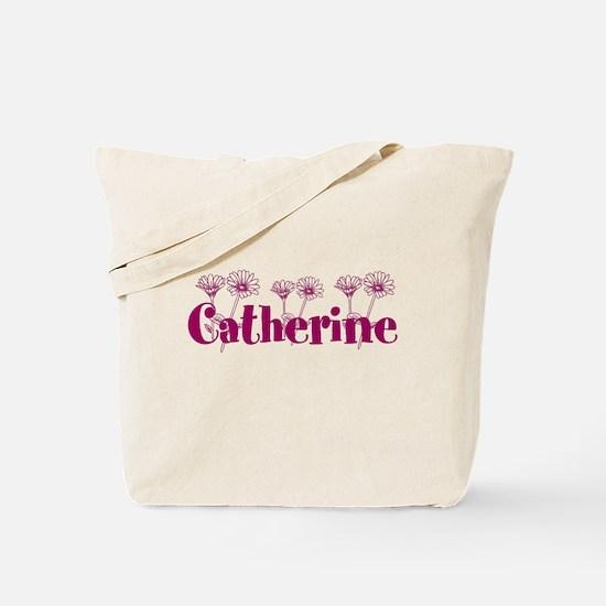 Purple Personalized Name Tote Bag