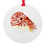 Chambered Nautilus Ornament