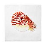 Chambered Nautilus Queen Duvet