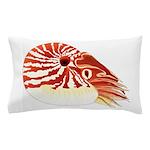 Chambered Nautilus Pillow Case