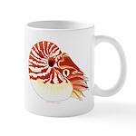 Chambered Nautilus c Mugs