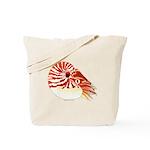 Chambered Nautilus c Tote Bag