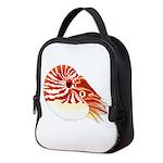 Chambered Nautilus c Neoprene Lunch Bag