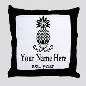 Vintage Pineapple Throw Pillow