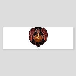 Satanic Dragon Bumper Sticker