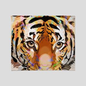 Tiger Mix #3, Throw Blanket