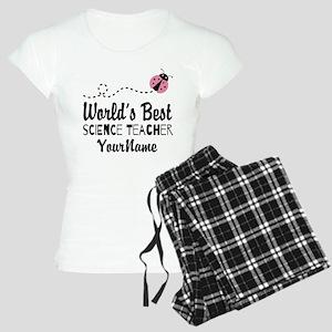World's Best Science Teacher Women's Light Pajamas
