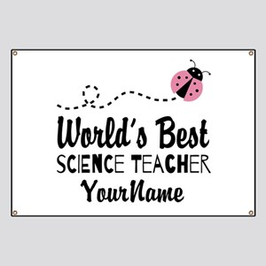 World's Best Science Teacher Banner