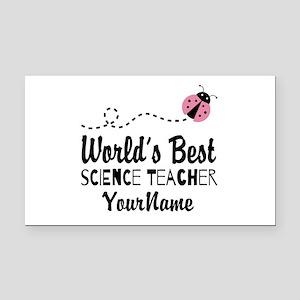 World's Best Science Teacher Rectangle Car Magnet