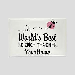 World's Best Science Teacher Rectangle Magnet