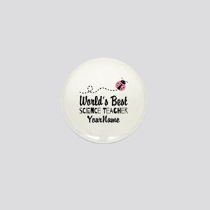 World's Best Science Teacher Mini Button