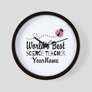 World's Best Science Teacher Wall Clock