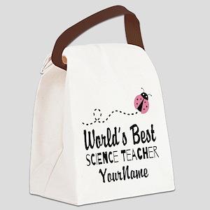 World's Best Science Teacher Canvas Lunch Bag