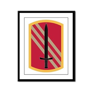 113th Sustainment Brigade Framed Panel Print