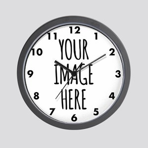 Custom Photo Wall Clock