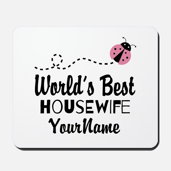 World's Best Housewife Mousepad