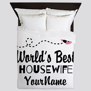 World's Best Housewife Queen Duvet