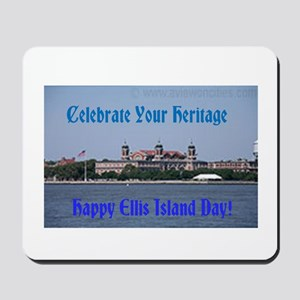 Ellis Island Day Mousepad