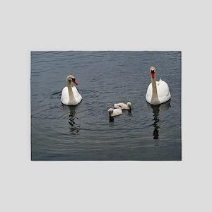 Swans 416 5'x7'Area Rug