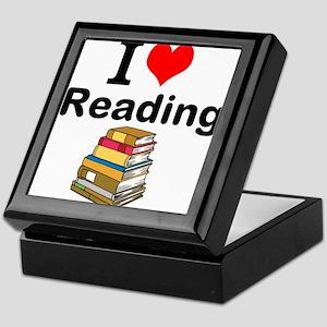 I Love Reading Keepsake Box