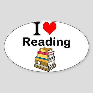 I Love Reading Sticker