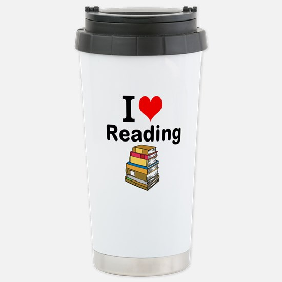 I Love Reading Travel Mug