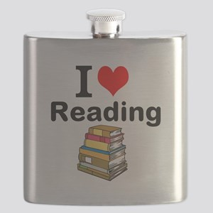I Love Reading Flask