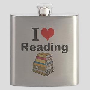 I Love Reading Flask
