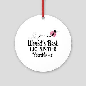 best big sister ornaments cafepress