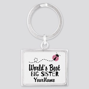 Worlds Best Big Sister - Personalized Landscape Ke