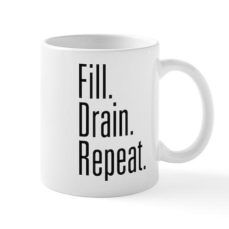 Fill Drain Repeat Mugs