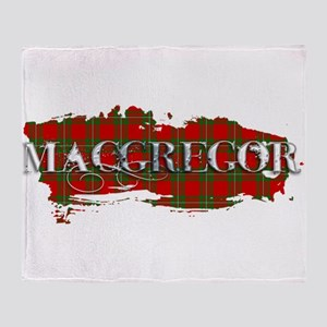Macgregor Tartan Throw Blanket