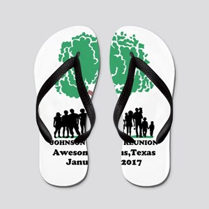 Reunion Personalized Flip Flops