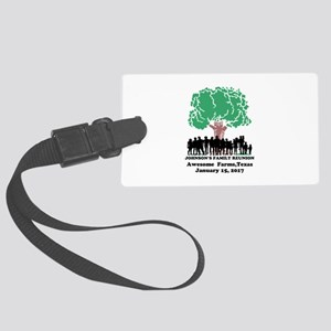 Reunion Personalized Large Luggage Tag