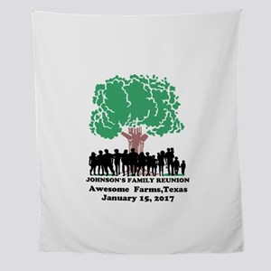 Reunion Personalized Wall Tapestry