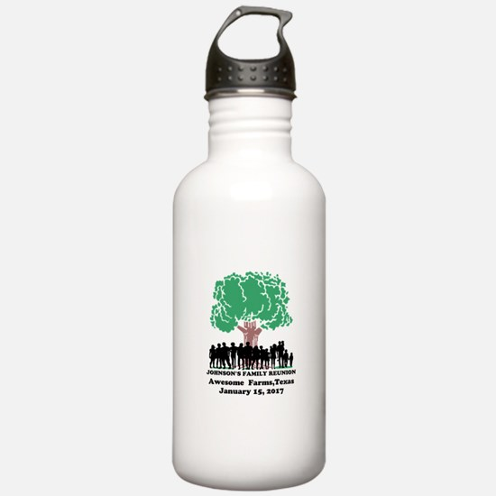 Reunion Personalized Water Bottle