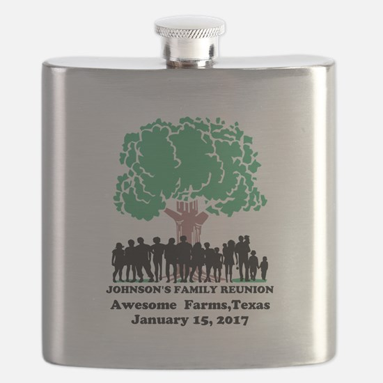 Reunion Personalized Flask