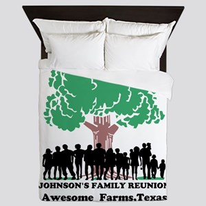 Reunion Personalized Queen Duvet