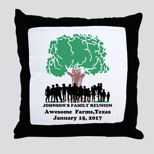 Reunion Personalized Throw Pillow