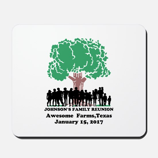 Reunion Personalized Mousepad