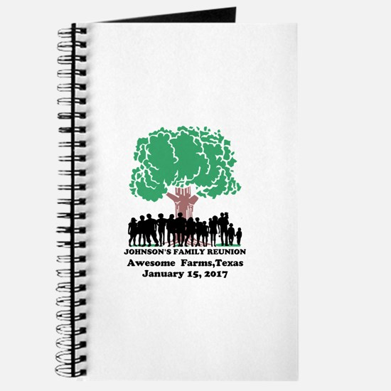 Reunion Personalized Journal