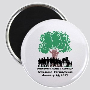 Reunion Personalized Magnet